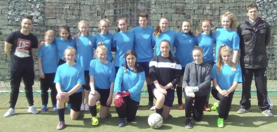 Ghs Fussballmadchen Erfolgreich Bei Jugend Trainiert Fur Olympia Wettbewerb In Kassel